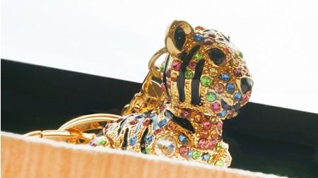 《SS2S》彩色虎鑰匙圈