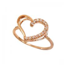 《禮賀》浪漫雙星 戒指(金)