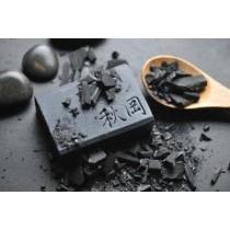 【秋岡手工皂】  備長炭黑鑽皂  Binchoutan